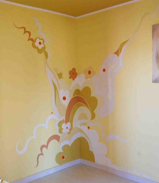 Une chambre haute en couleur atelier mur 39 mur - Couleur de mur pour une chambre ...