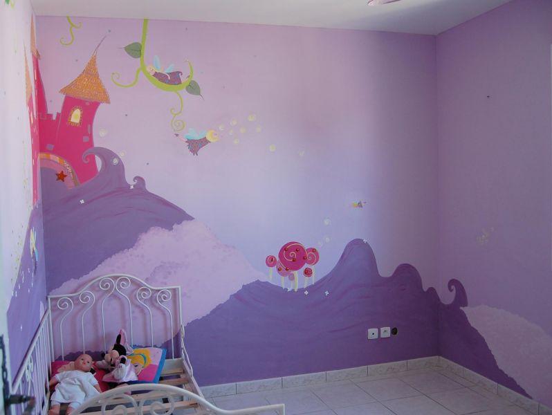 chambre f erique pour la jeune kassia atelier mur 39 mur. Black Bedroom Furniture Sets. Home Design Ideas