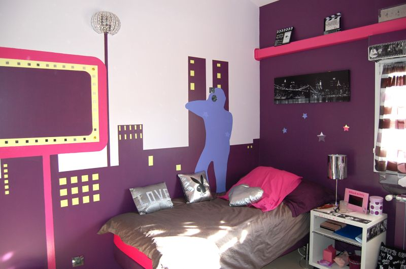 Une chambre ado star hollywood d coration forum for Deco chambre ado fille 12 ans